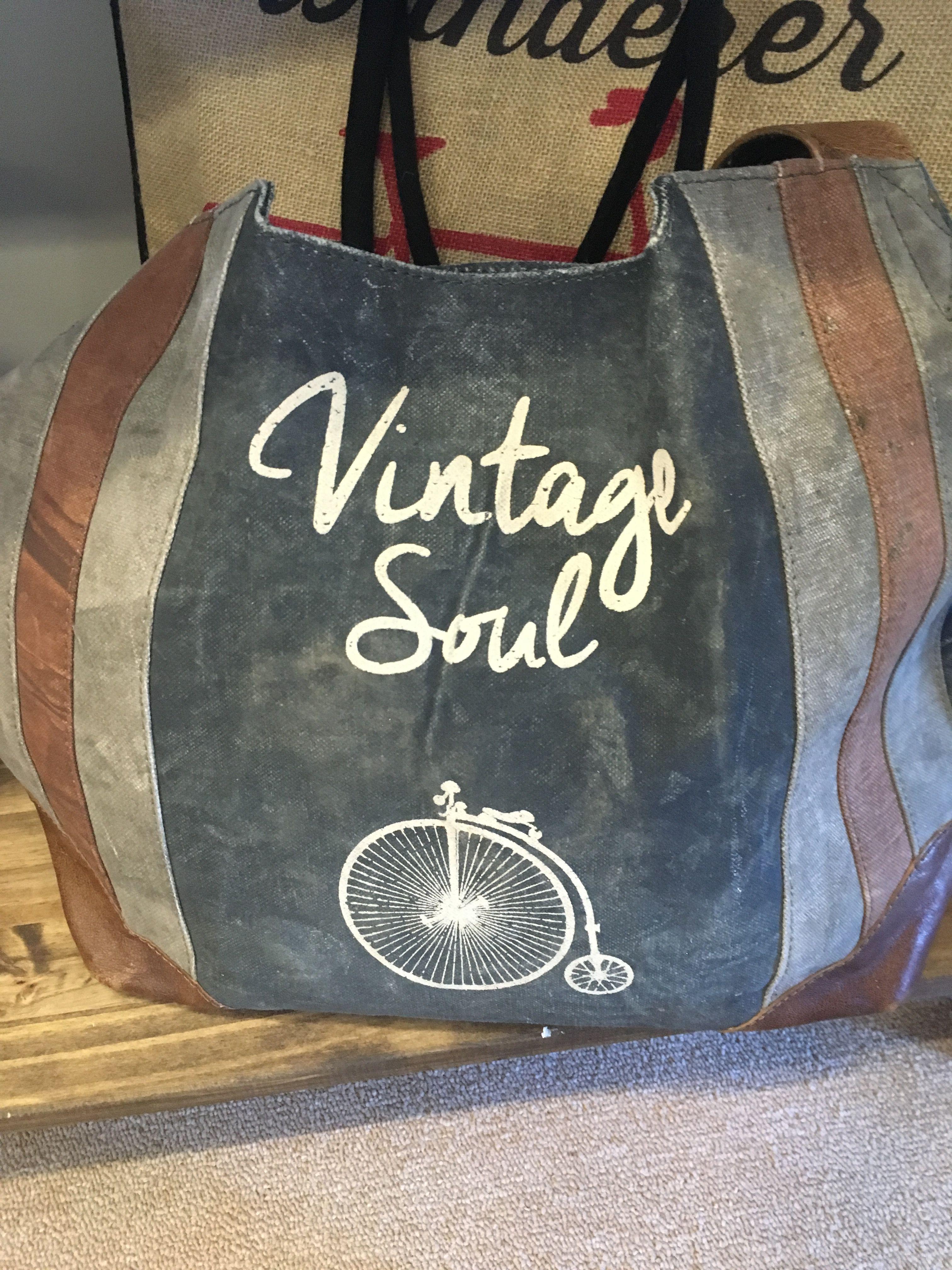 Pin by Sonya Compton on Cricut Bags, Vintage soul, Duffle