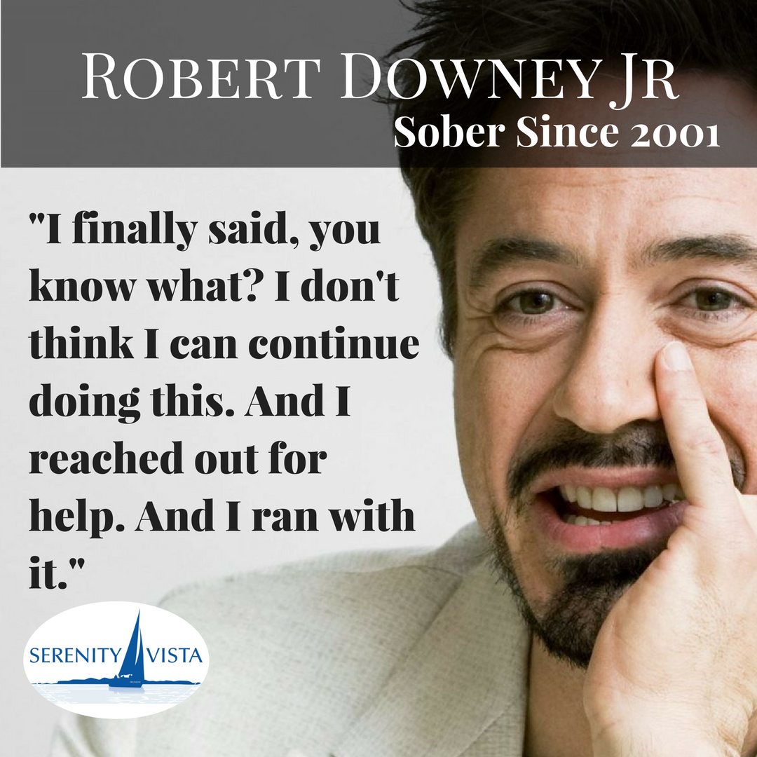 Perfect Our Biggest Sober Celebrity #robertdownyjr You Are The Man.  #soberfamouspeople #notdrinkinganymore