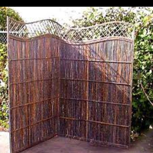 Willow privacy screen privacy screen ideas pinterest for Natural privacy fence