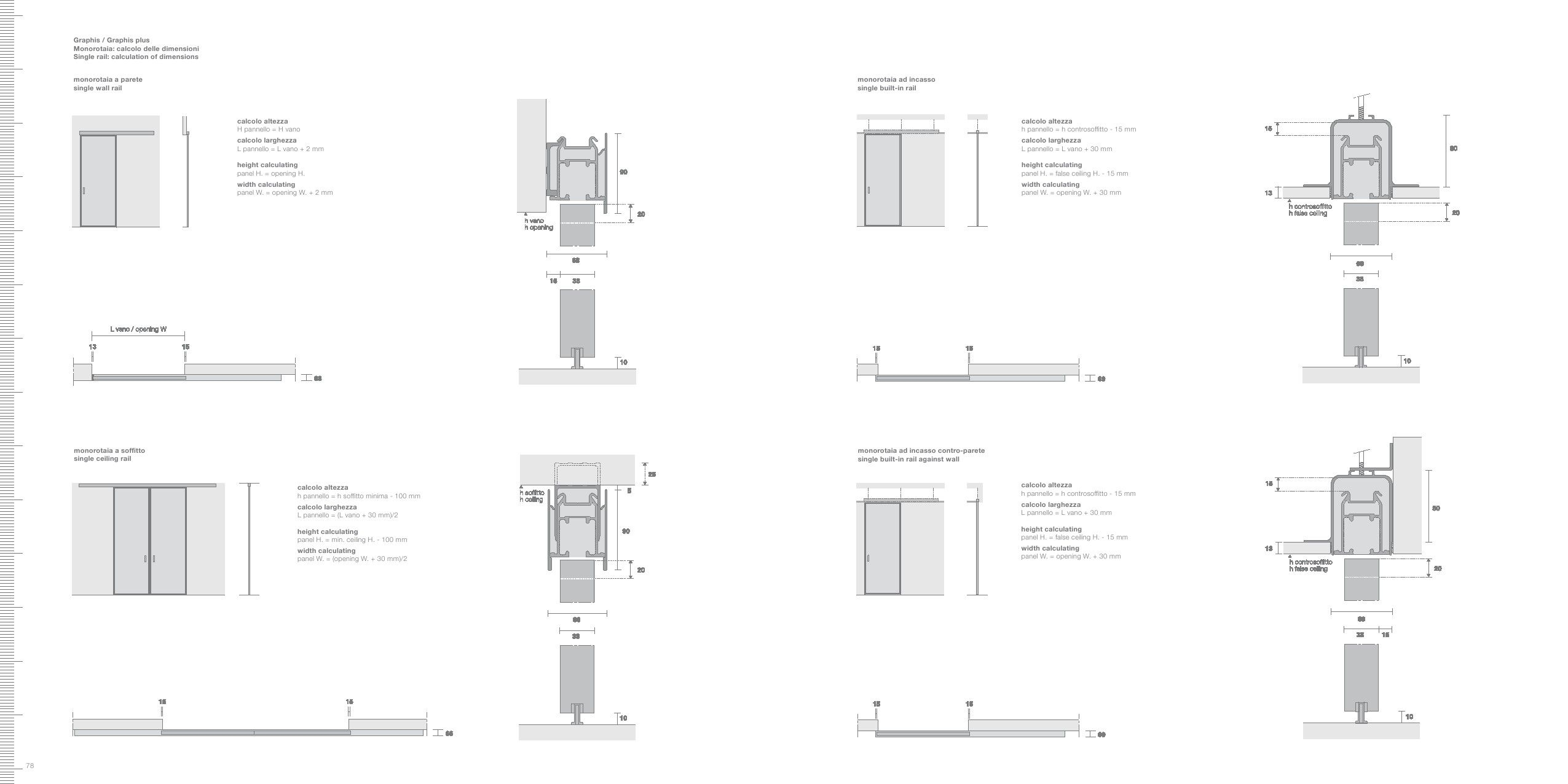 Altezza Minima Soffitto pin by lisa on rimadesio - sliding doors (with images