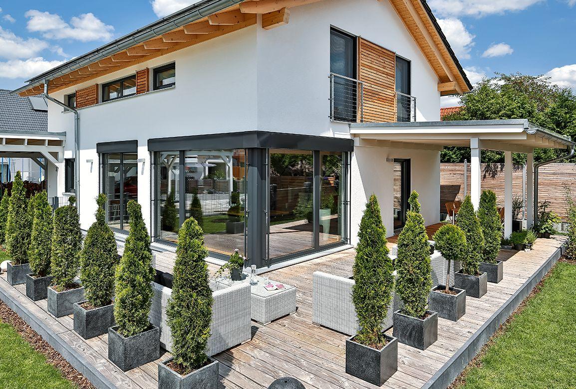 Regnauer Vitalhaus Bruckberg | home | Pinterest | Hausbau ...