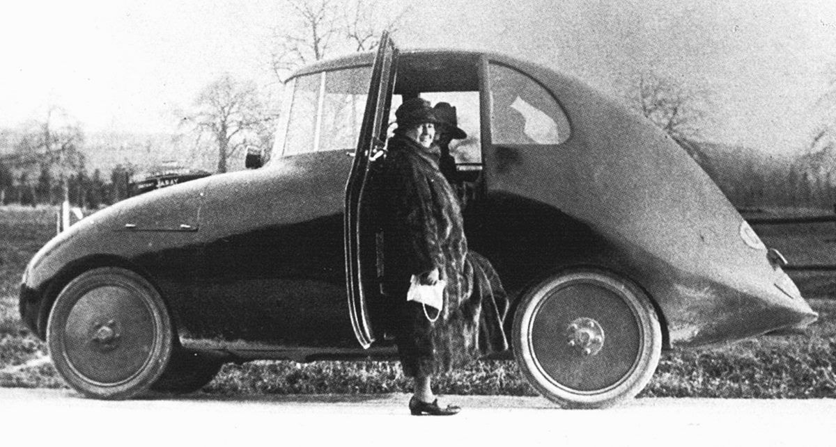 Andrew Aborygen Skladowski The first aerodynamic car ever: Jaray-Ley ...