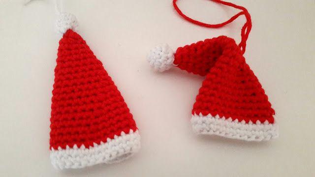 1c8cccb6471e tuto diy bonnet pere noel crochet   Noël   Crochet, Noel et Christmas