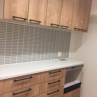 キッチン アレスタ Lixil リクシル カップボードのインテリア実例 2017 03 11 01 05 24 Roomclip ルームクリップ アレスタ リビング キッチン カップボード