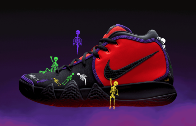 Early Drop Nike Kyrie 4 Day of the Dead Nike kyrie