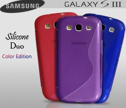 Coque Samsung Galaxy S3 Silicone Duo Color Edition | Samsung ...