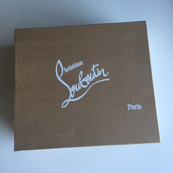 christian louboutin box for shoes