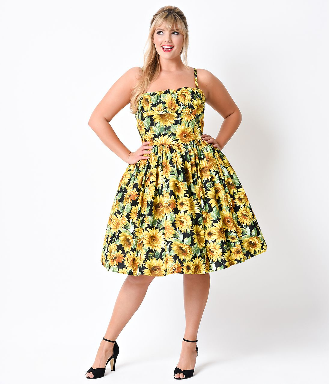 1950s Style Dresses, Pinup Dresses, Swing Dresses | 1950s and Swings