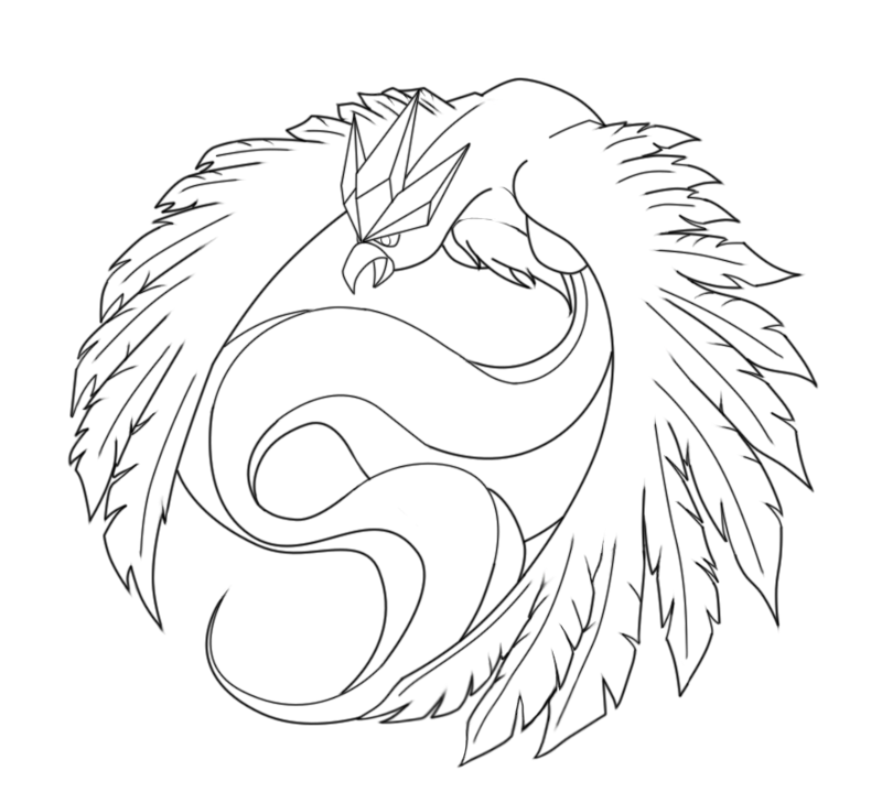 Articuno Project Lineart By ErnestoVladimir On DeviantArt