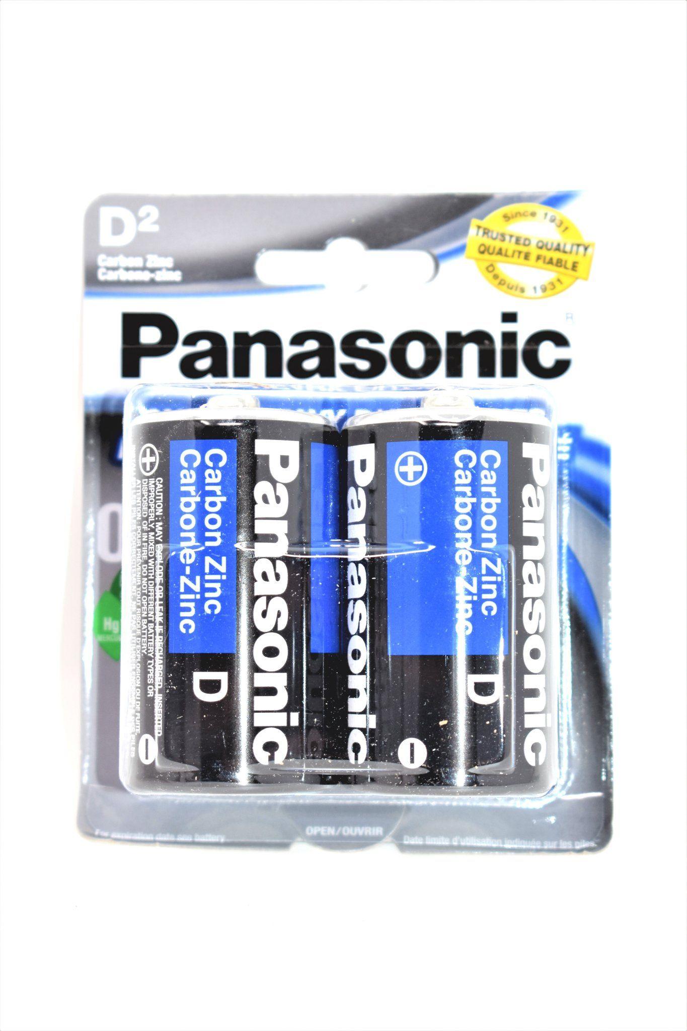 Panasonic D Super Heavy Duty Power Batteries 2 Ct Heavy Duty Panasonic Heavy