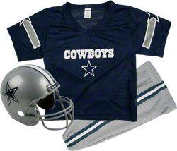 caae1f05f Dallas Cowboys Kids Youth Football Helmet Uniform Set  49.99 http   www.