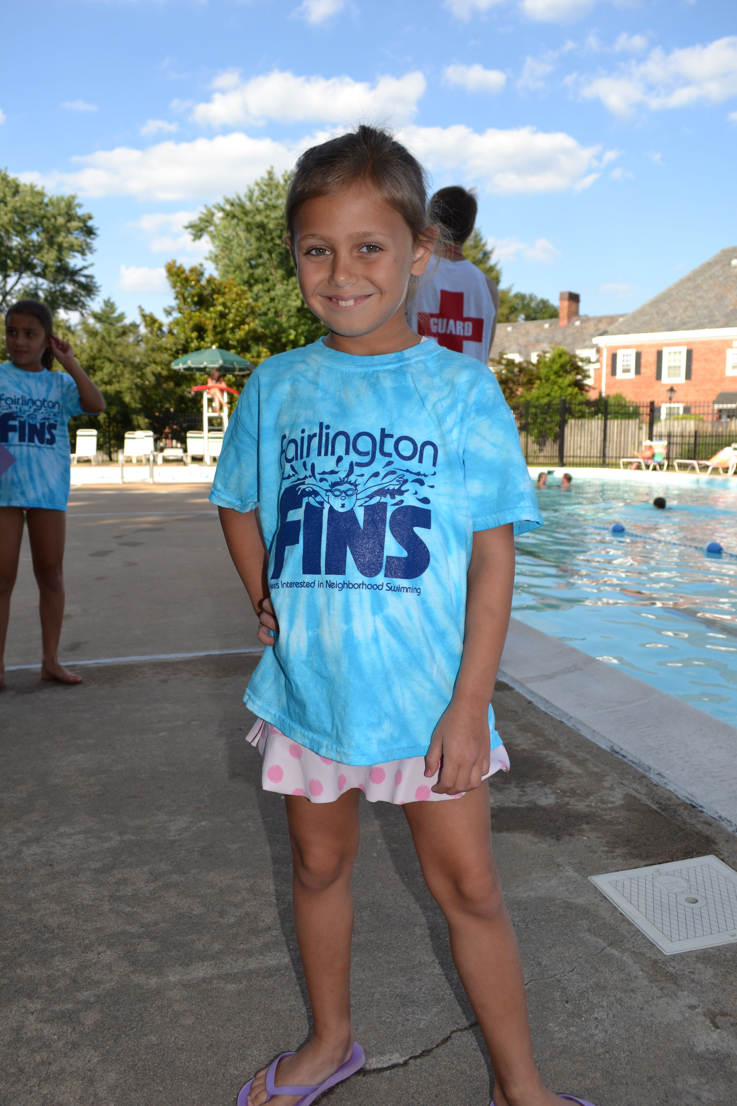 Fairlington FINS, a swim team t-shirt design. | VSGD | Pinterest