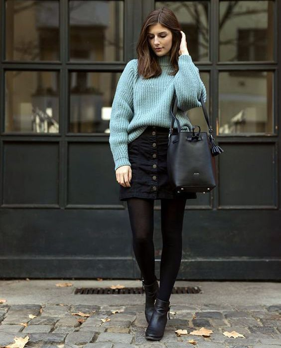 Photo of Looks com Saia Jeans: +70 Looks e Dicas de Como Usar [2020]