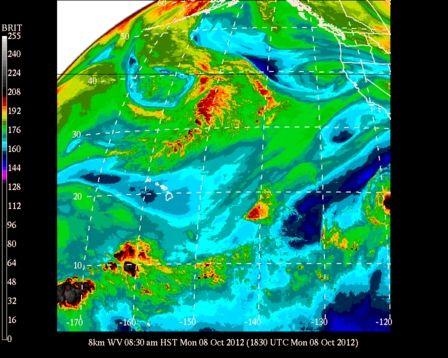 #UHManoa #Hawaii #Meteorology #Weather #Temp 79F #RH 76% #Winds S 6mph #MostlySunny #Vog