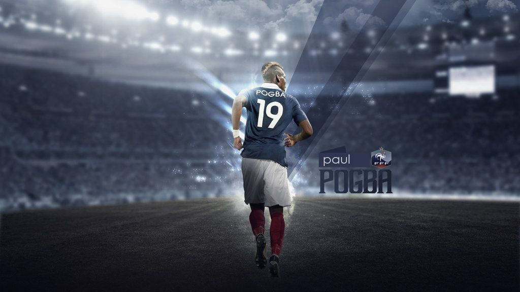 Paul Pogba Wallpaper (France) By RakaGFX.deviantart.com On