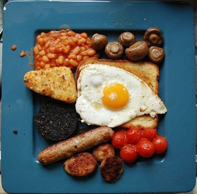 An english breakfast