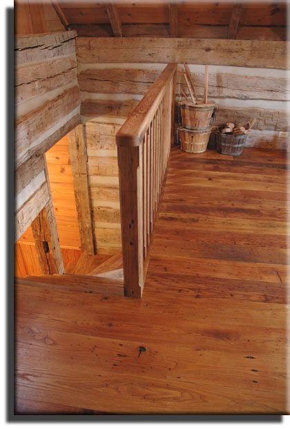 antique wormy chestnut flooring by appalachian woods, llc wide