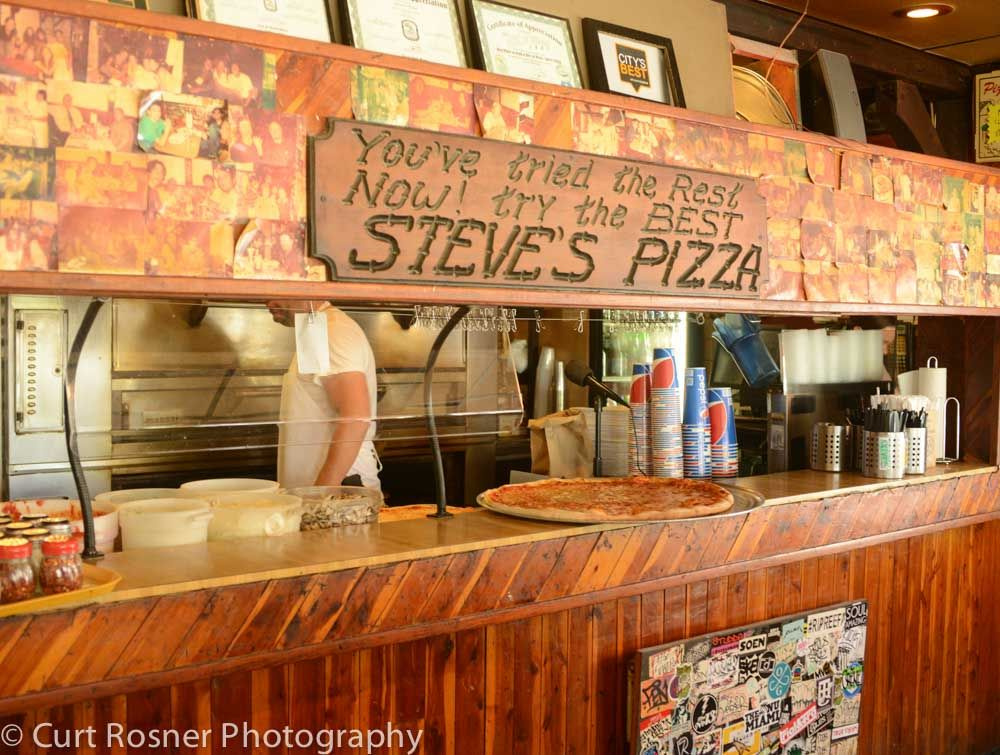In honor of National Pizza Month 3 Best Bets for Pizza in Miami Steve's Pizza in North Miami #pizza #nationalpizzamonth #miami