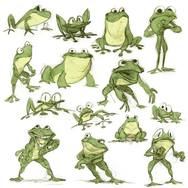 Character design by Wouter Tulp, via Behance