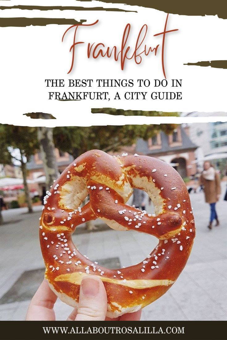 The Best Things To Do In Frankfurt Things To Do Frankfurt