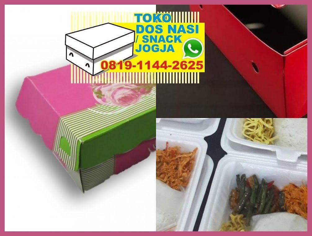 Snack Box Jogja Murah Dus Snack Karakter Harga Box Nasi Styrofoam
