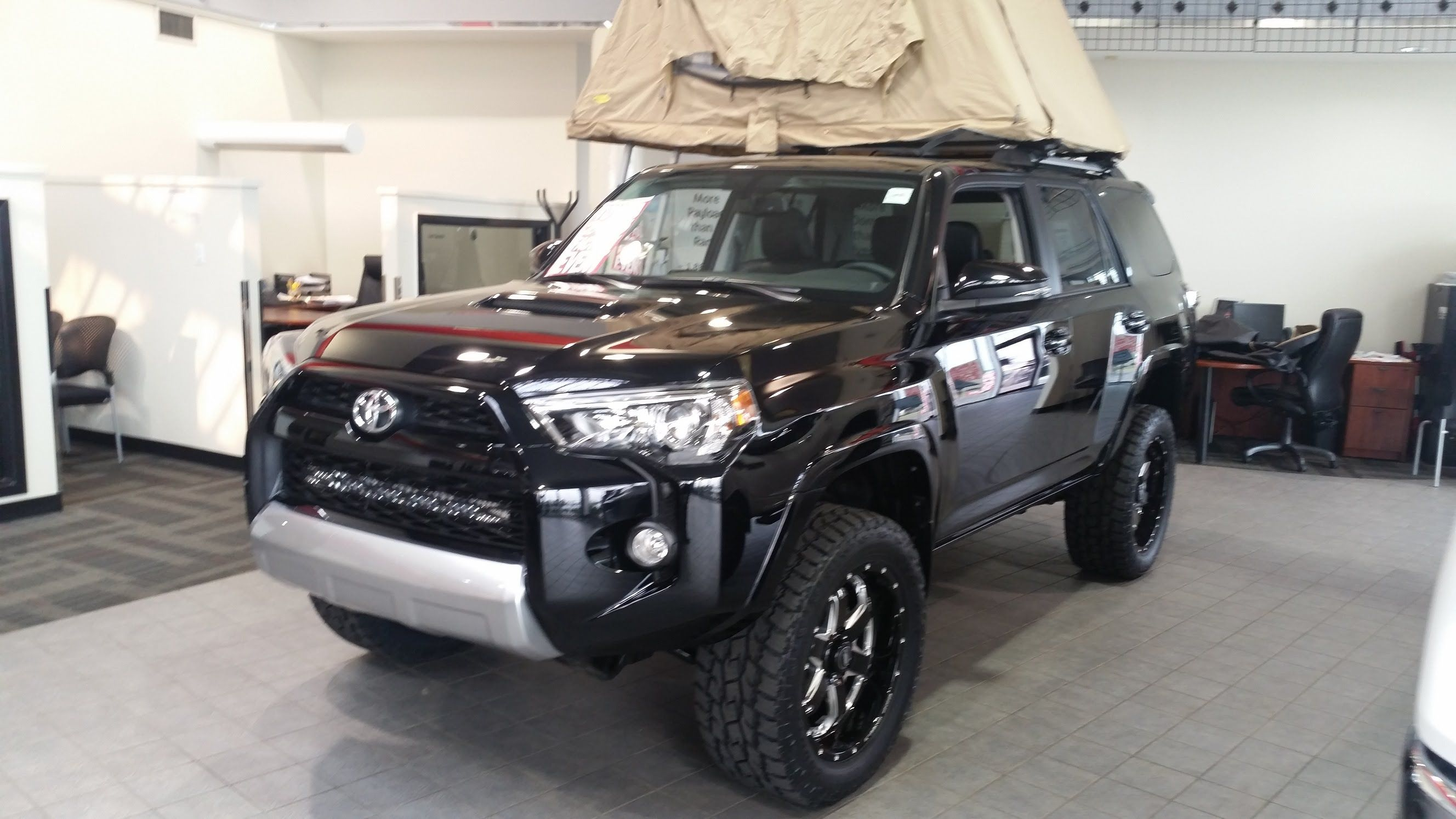 2015 toyota 4runner trail edition with a lift kit and bmf. Black Bedroom Furniture Sets. Home Design Ideas