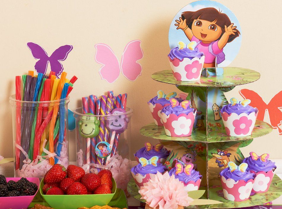 dora the explorer birthday party ideas 2 year old