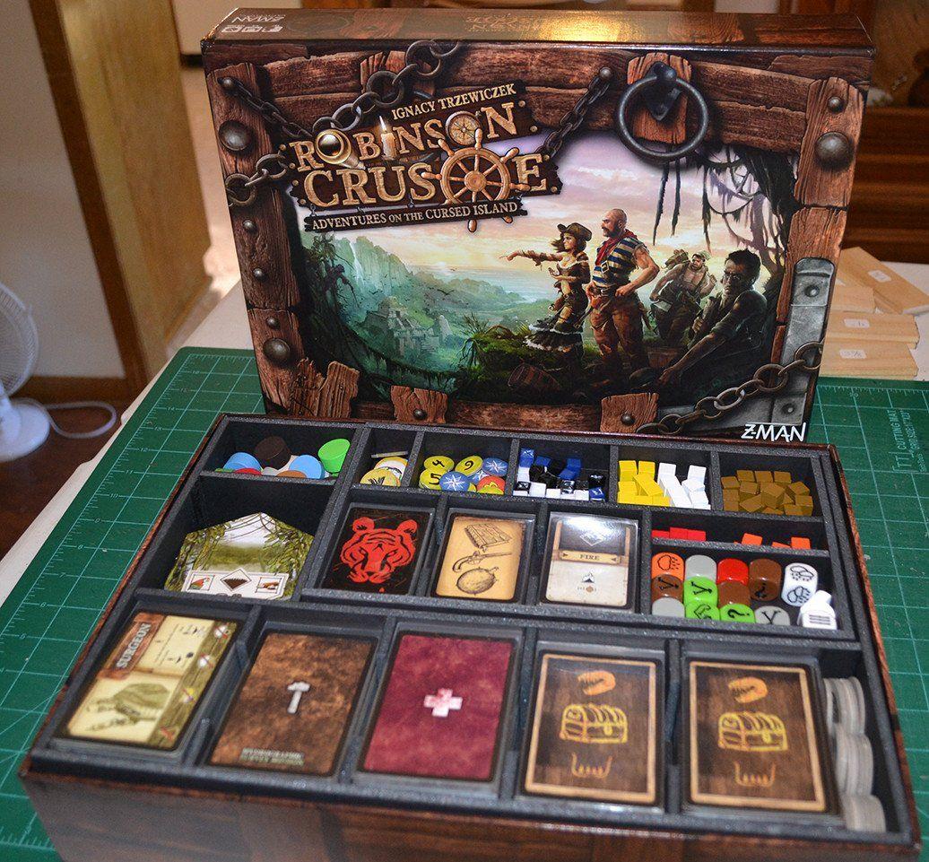 Robinson Crusoe™ Foamcore Insert (preassembled) Board