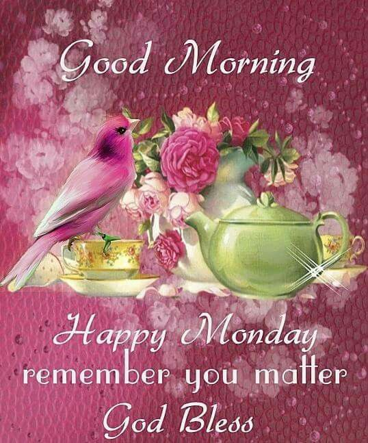 Happy Monday Blessings French Monday Blessings Happy Monday