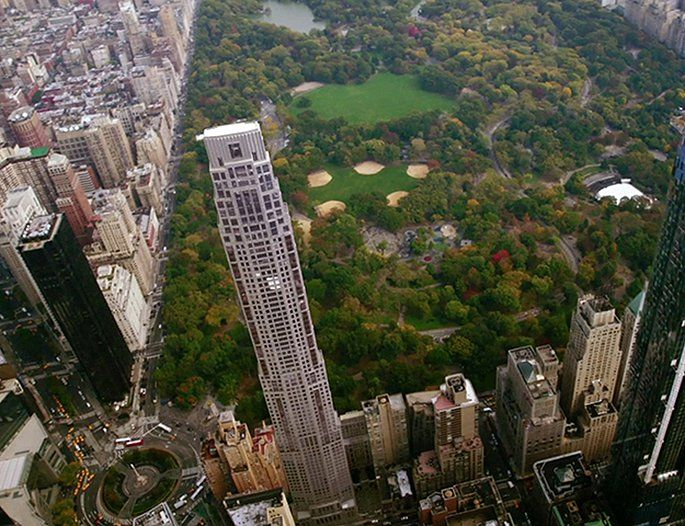 Construction Update Robert A M Stern S 220 Central Park South
