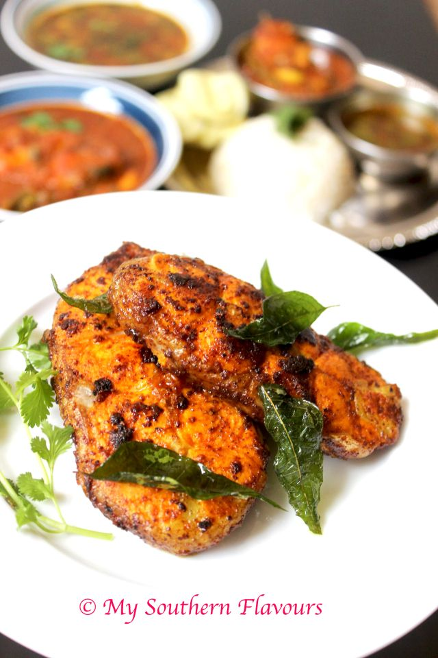 Today S Special Dish Is Spicy South Indian Style Fish Fry I Love