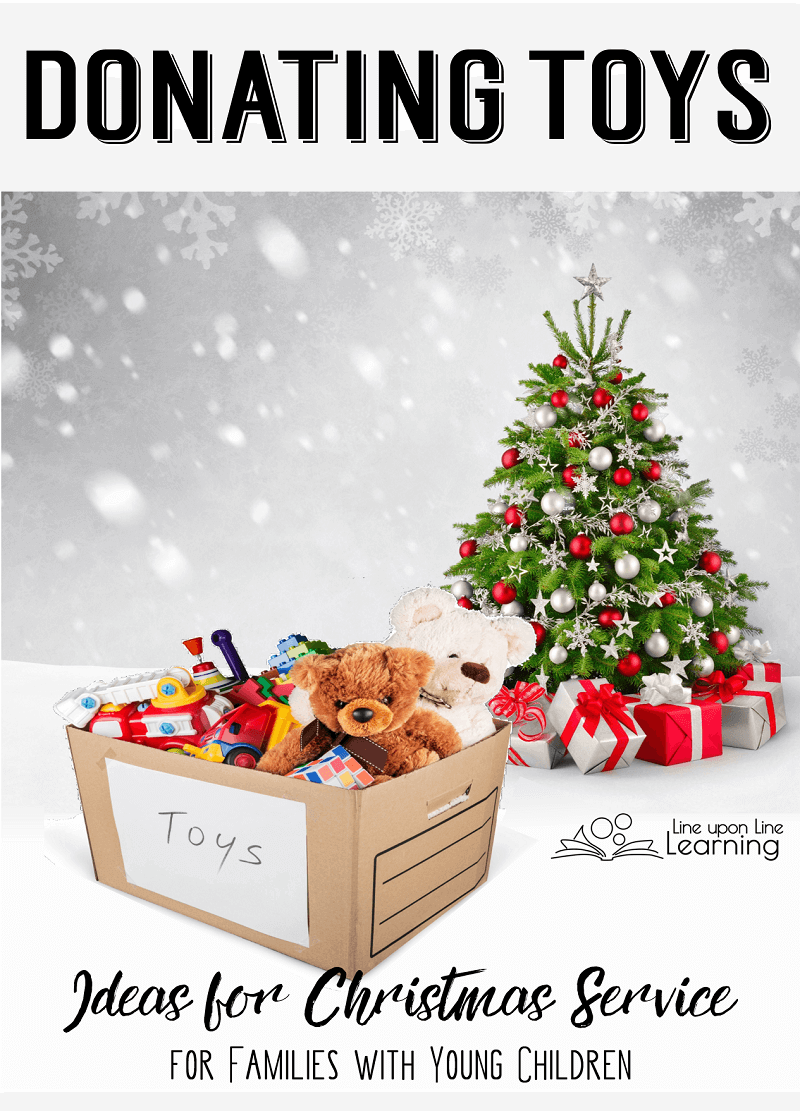 Service Idea For Young Children Donate Toys Relief Society Christmas Gifts Christmas Service Christmas Learning