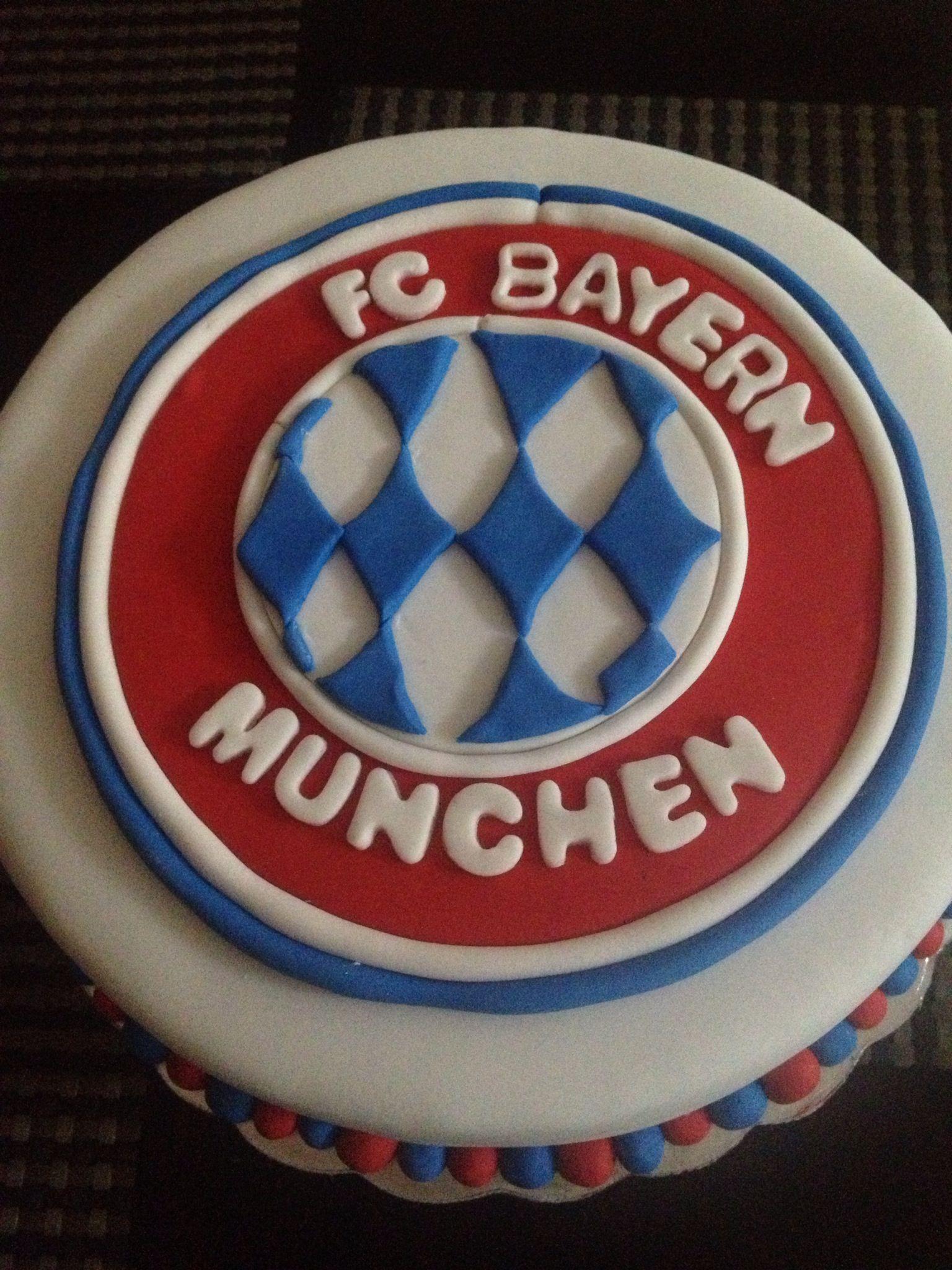 Bayern Munchen Cake made for my son Bayern torte
