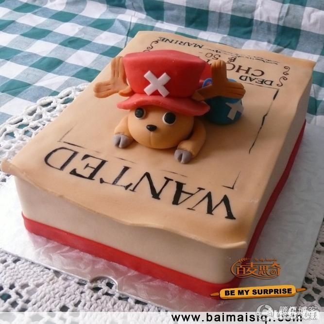 One Piece Chopper Cake I Like Pinterest Cake Anime Cake And