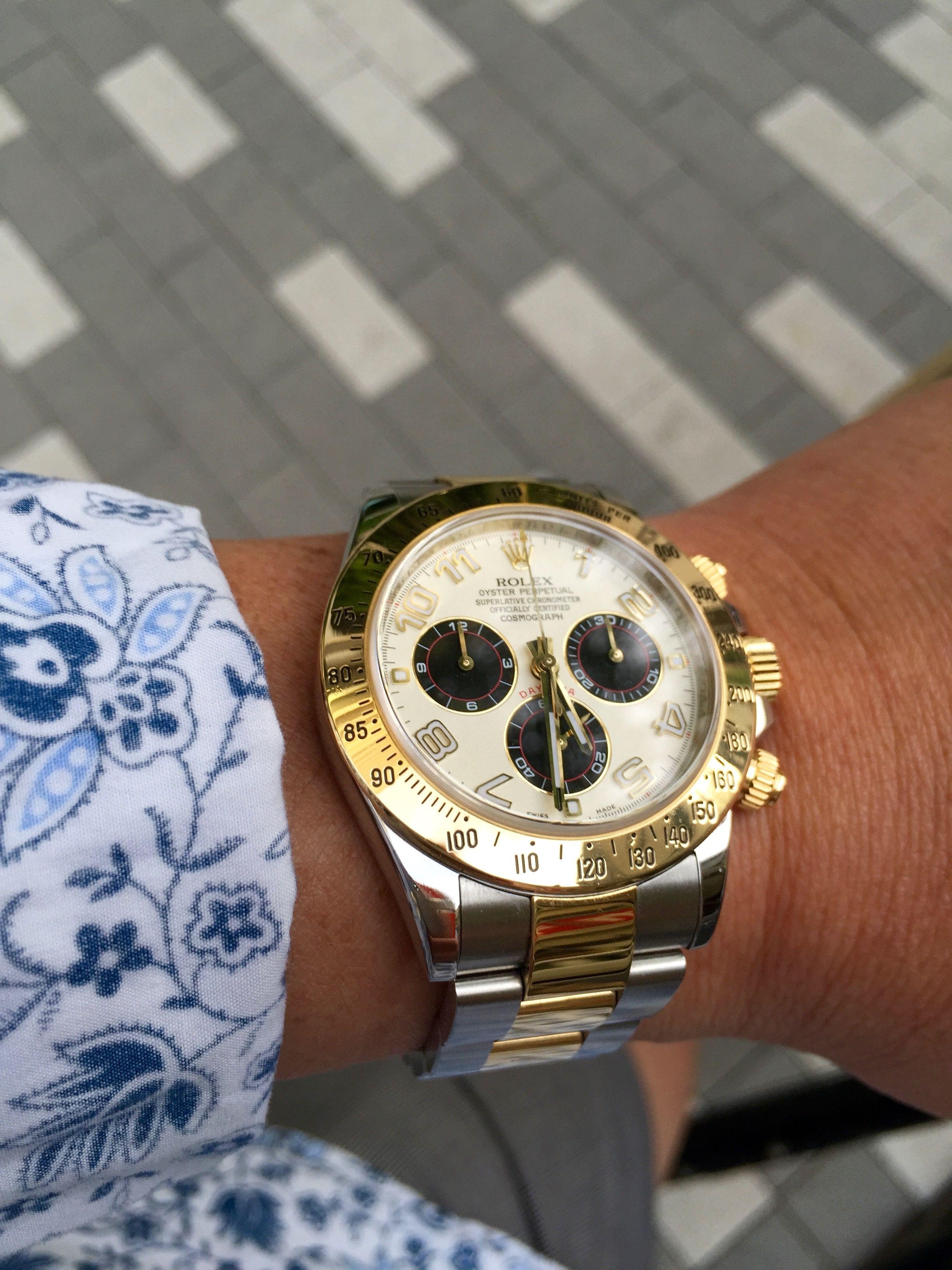 Daytona 116523 Panda dial