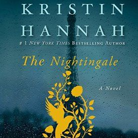 "Another must-listen from my #AudibleApp: ""The Nightingale"" by Kristin Hannah, narrated by Polly Stone."