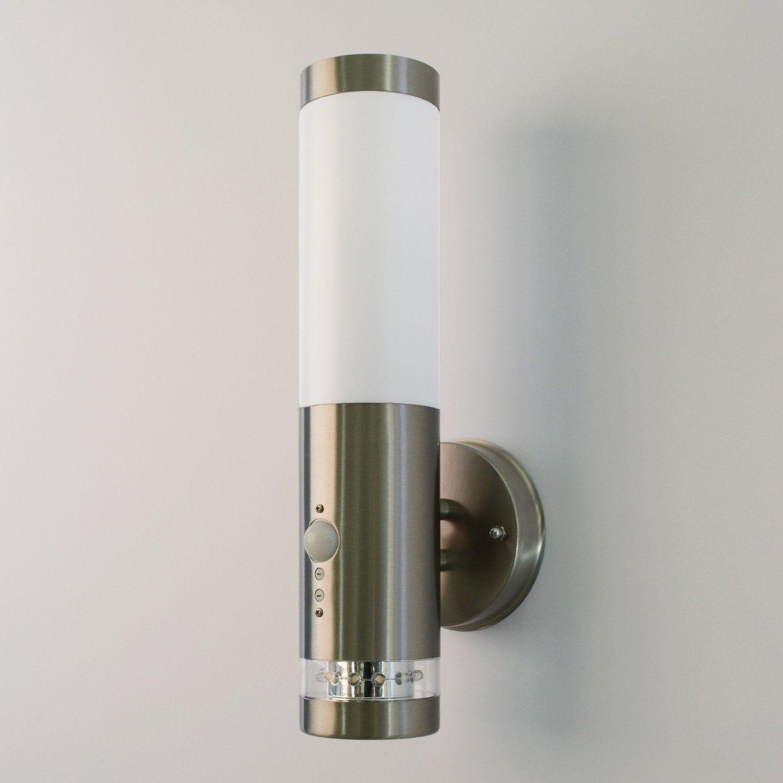 Komplett Neu Aussenleuchte mit Bewegungsmelder Aussenlampe Wandleuchte  AD08