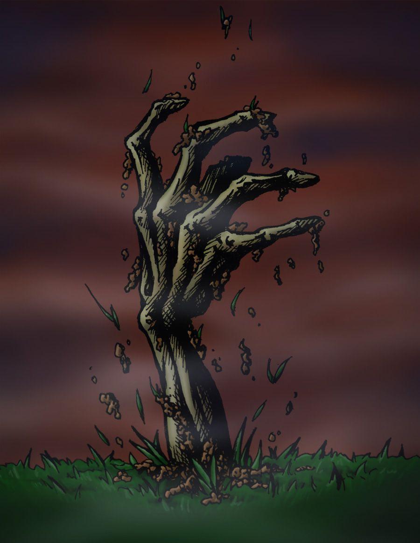 Back from the Grave by GleamofDreams.deviantart.com on @deviantART