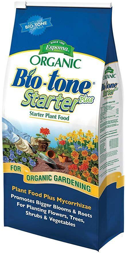 Espoma Organic Bio-Tone Starter Plus All Natural Plant Food - 4 lb Bag BTS4#bag #biotone #bts4 #espoma #food #natural #organic #plant #starter