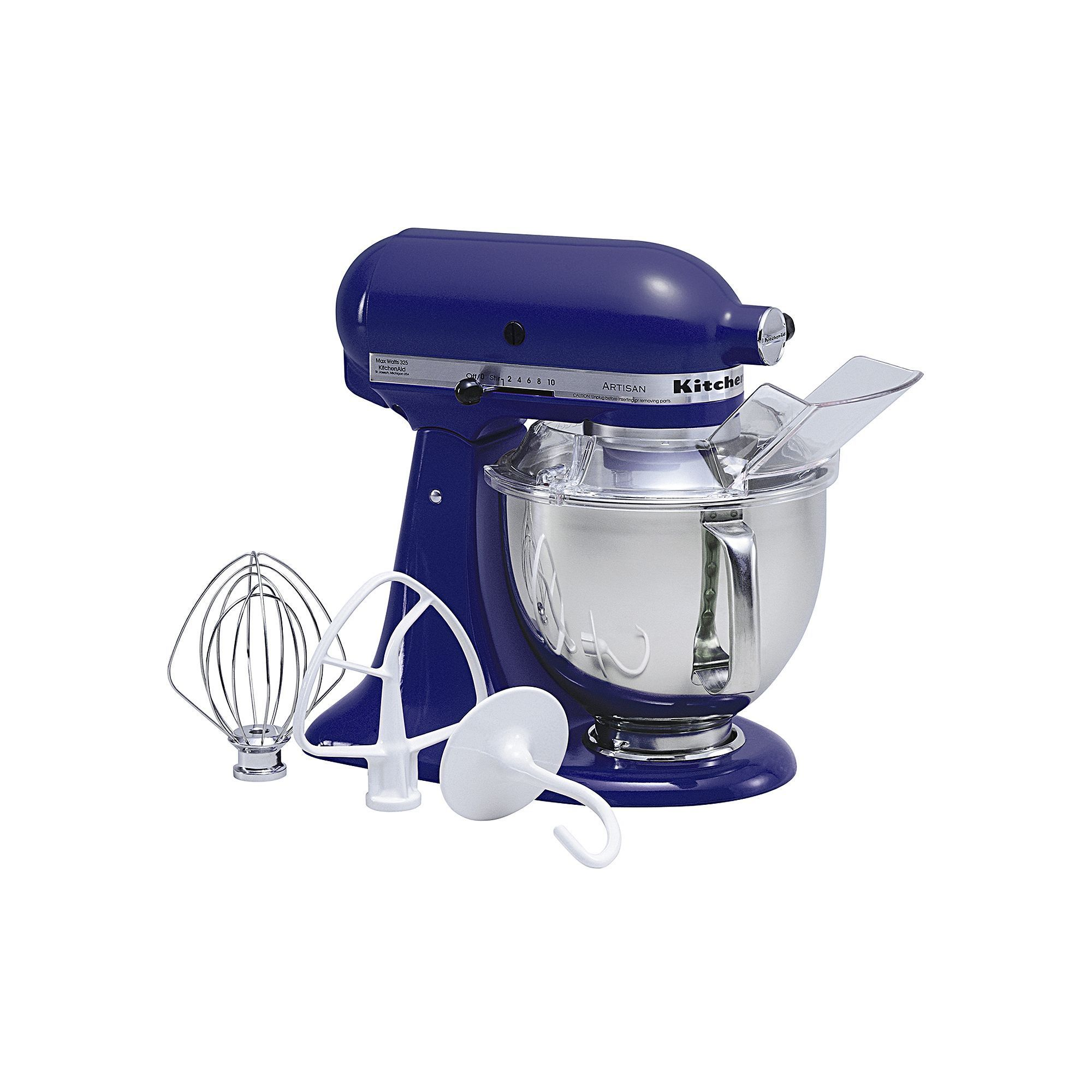 Kitchenaid ksm150ps artisan 5qt stand mixer blue