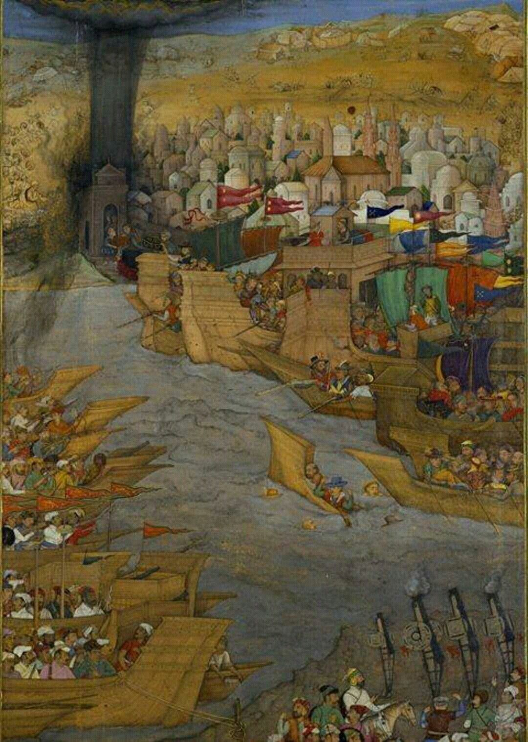 In 1632 mughql Emperor shah jahan ordered to capture a port of hoogli bengal.. and vanish the Portuguese...