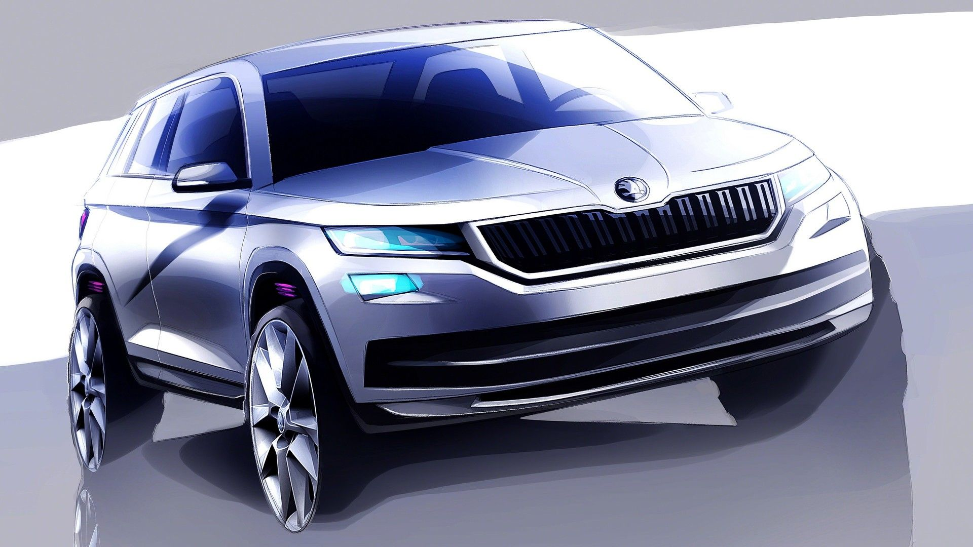 As You Would Expect From A Skoda The Kodiaq Will Have Gest Trunk In Its Cl