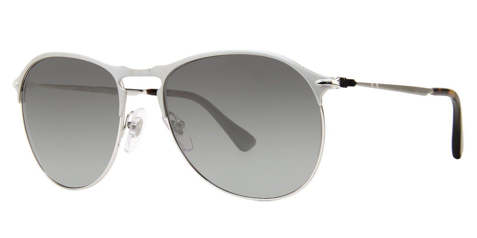 f5cb965eeaefd Persol - PO7649-S Silver - Gray-sunglasses-Designer Eyes