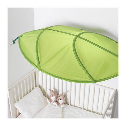 Ikea Lova Bed Canopy Green Giant Leaf New Decorating Toddler Girls Room Toddler Rooms Toddler Boys Room