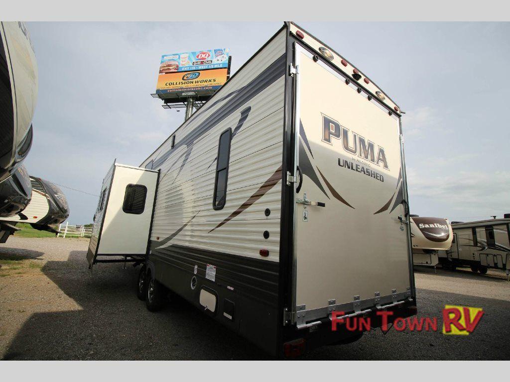 2014 Palomino Puma Unleashed 356qlb 5th Wheel Toy Hauler Toy
