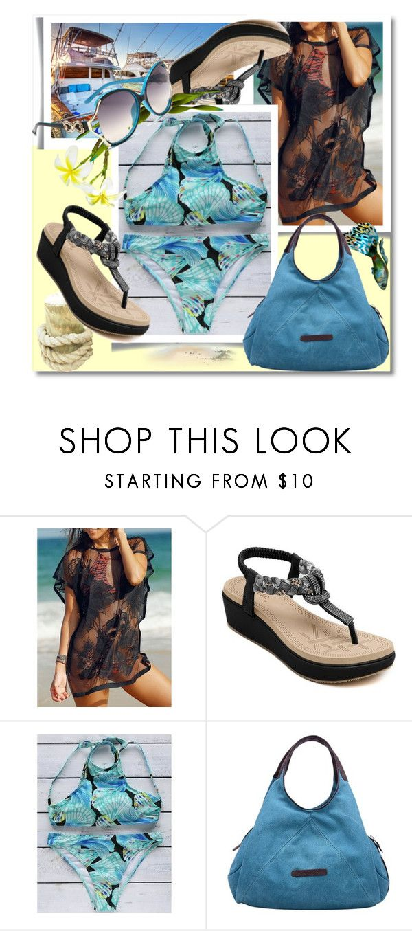 """""""TwinkleDeals: Bikini"""" by andrea2andare ❤ liked on Polyvore"""