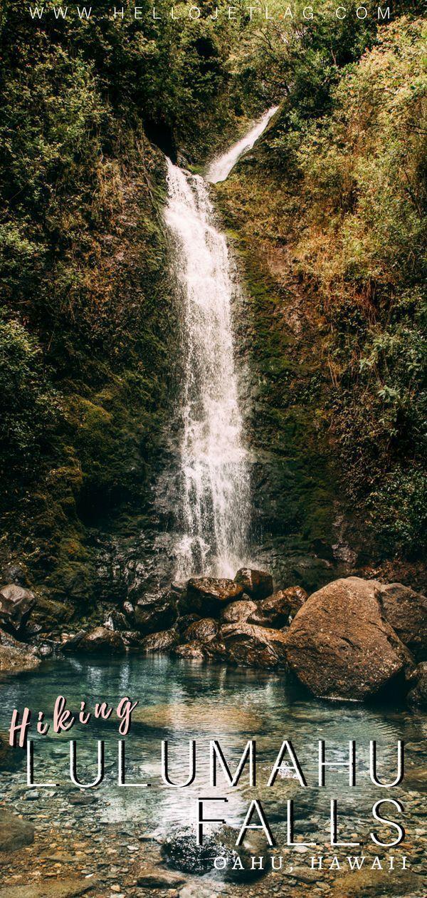 Romantic travel  #lulumahu #falls lulumahu falls oahu manoa falls oahu stairwa