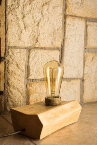 Desk Lamp with Old Style Light Bulb Edison Lamp | eBay