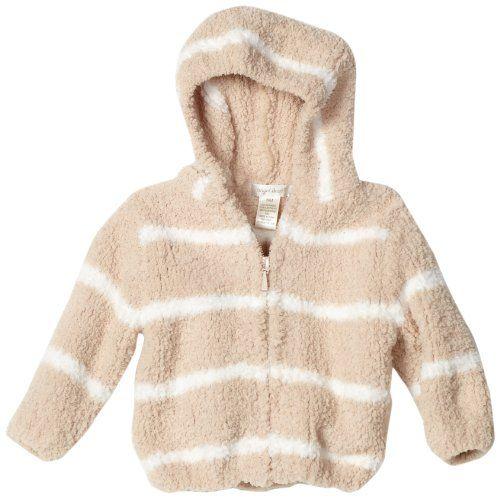 5b9a7b51d94b Angel Dear Unisex-baby Infant Striped Chenille Hooded Jacket
