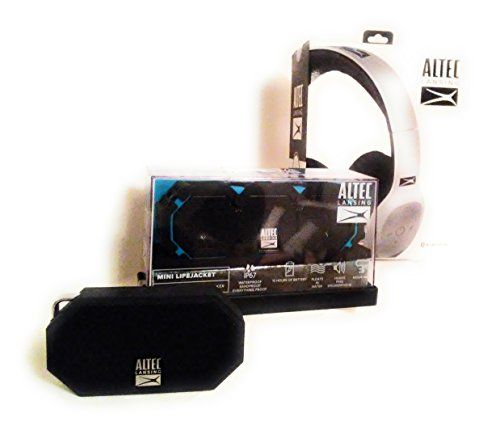 Altec Lansing Bluetooth Speakers And Headphones Bundle With Bonus
